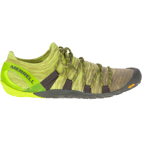 Merrell Vapor Glove 4 3D Chaussures Homme, olive drab/lime punch